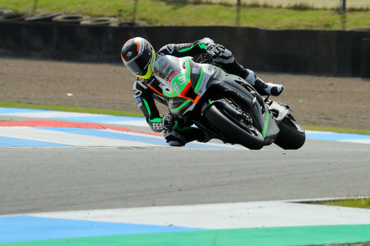 Buchan heats up the pace in Knockhill FP3