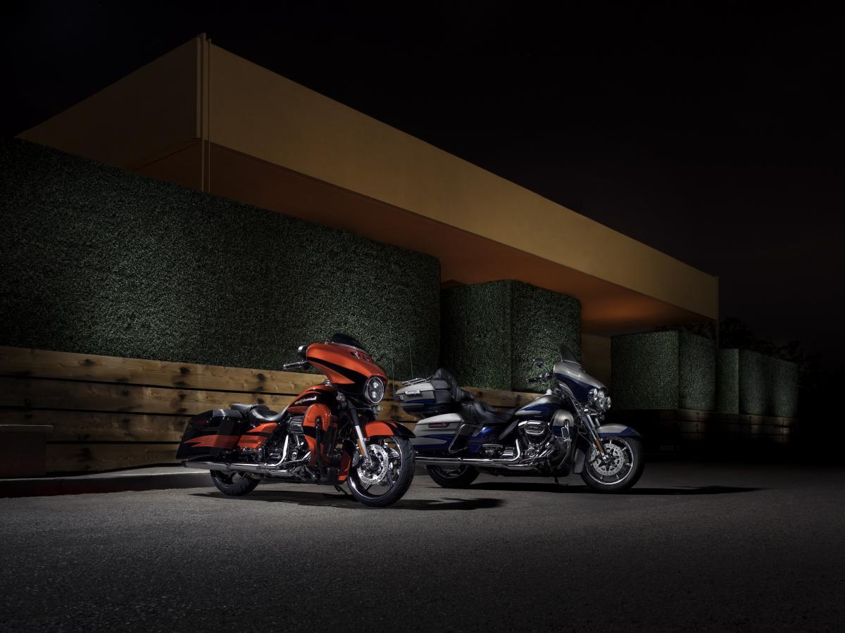 Harley-Davidson updates CVO models