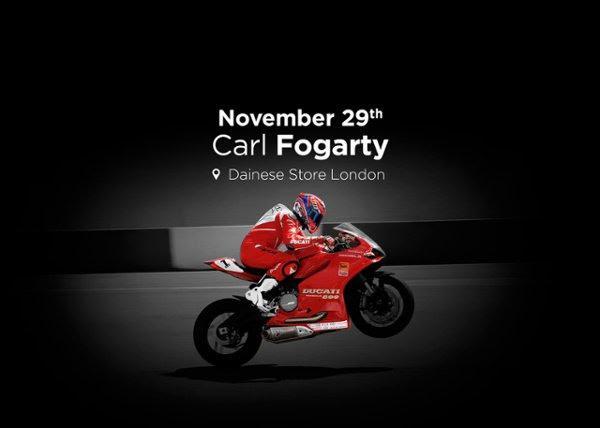 Carl Fogarty Dainese London