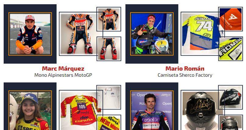 Charity MotoGP Auction