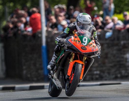 Connor Behan racing