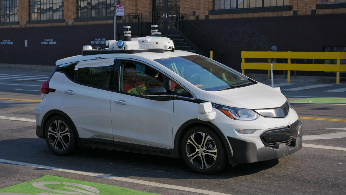 Driverless car collides with motorcycle – and rider is blamed
