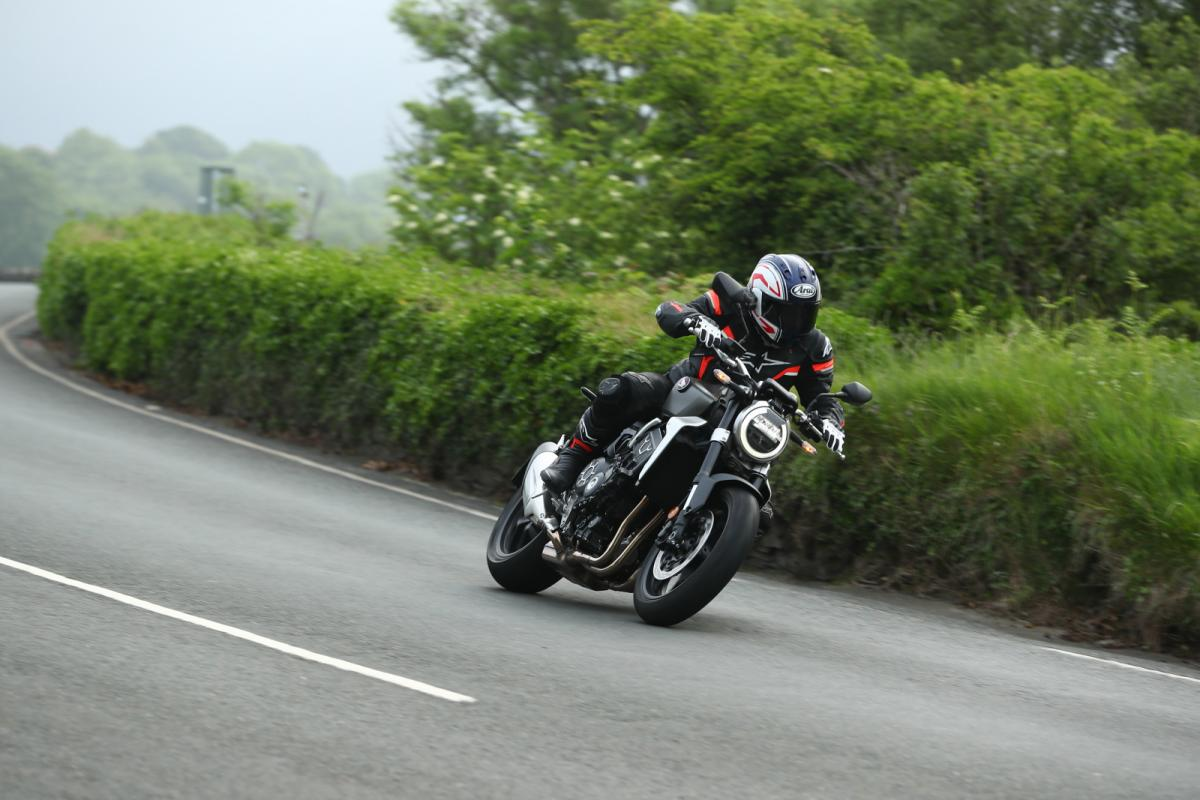 2018 Honda CB1000R at the TT