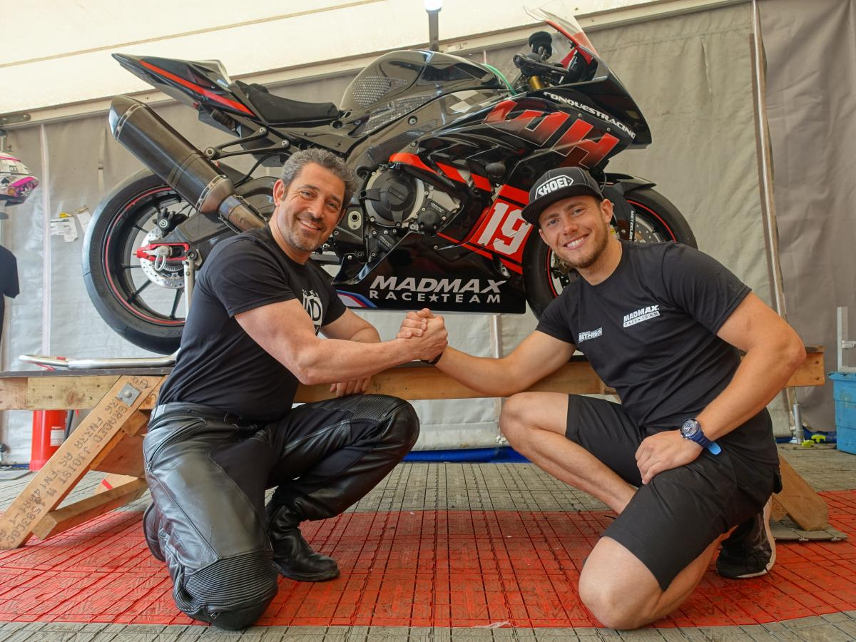 Daley Mathison joins MADMAX at the TT