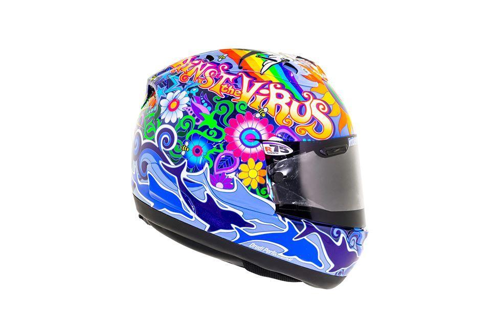 Drudi motorcycle helmet