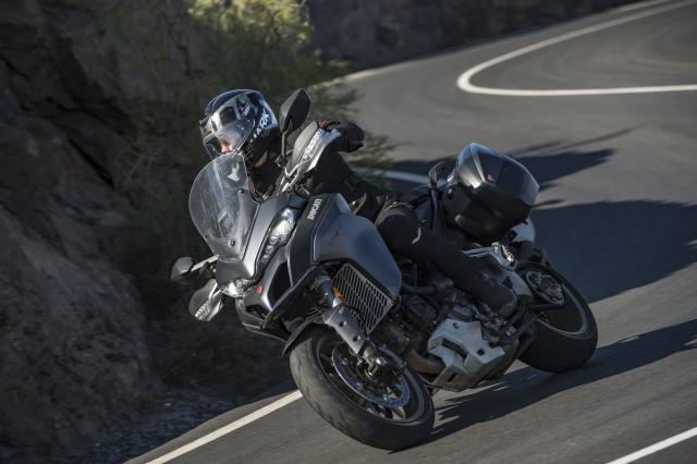 Ducati offer free touring kit with new Multistrada and Supersport