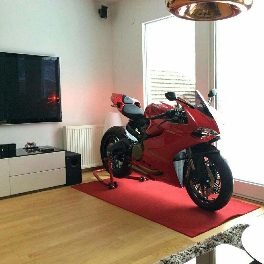 Ducati Panigale in Livingroom