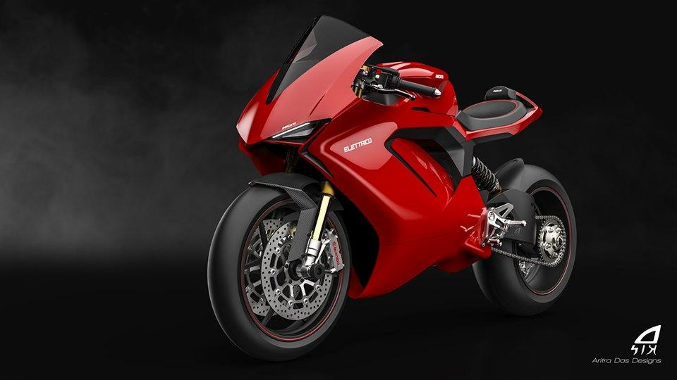 Is this what an electric Ducati could look like?