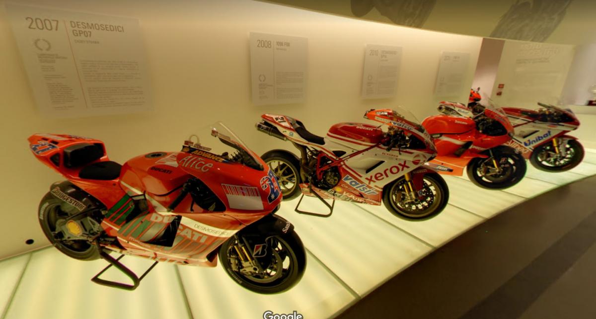 Museo Ducati Google Earth