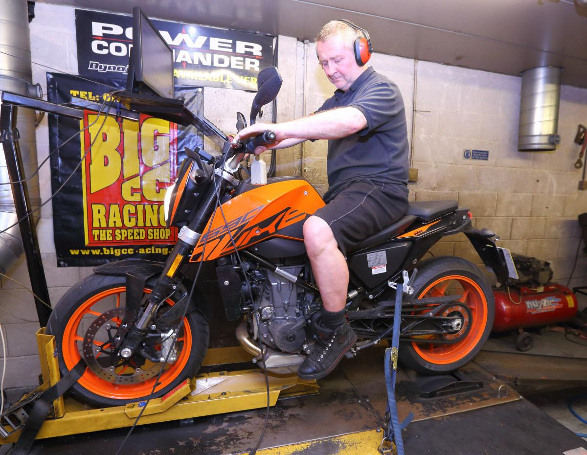 Stock 690 Duke on the Dyno - power figures | Visordown