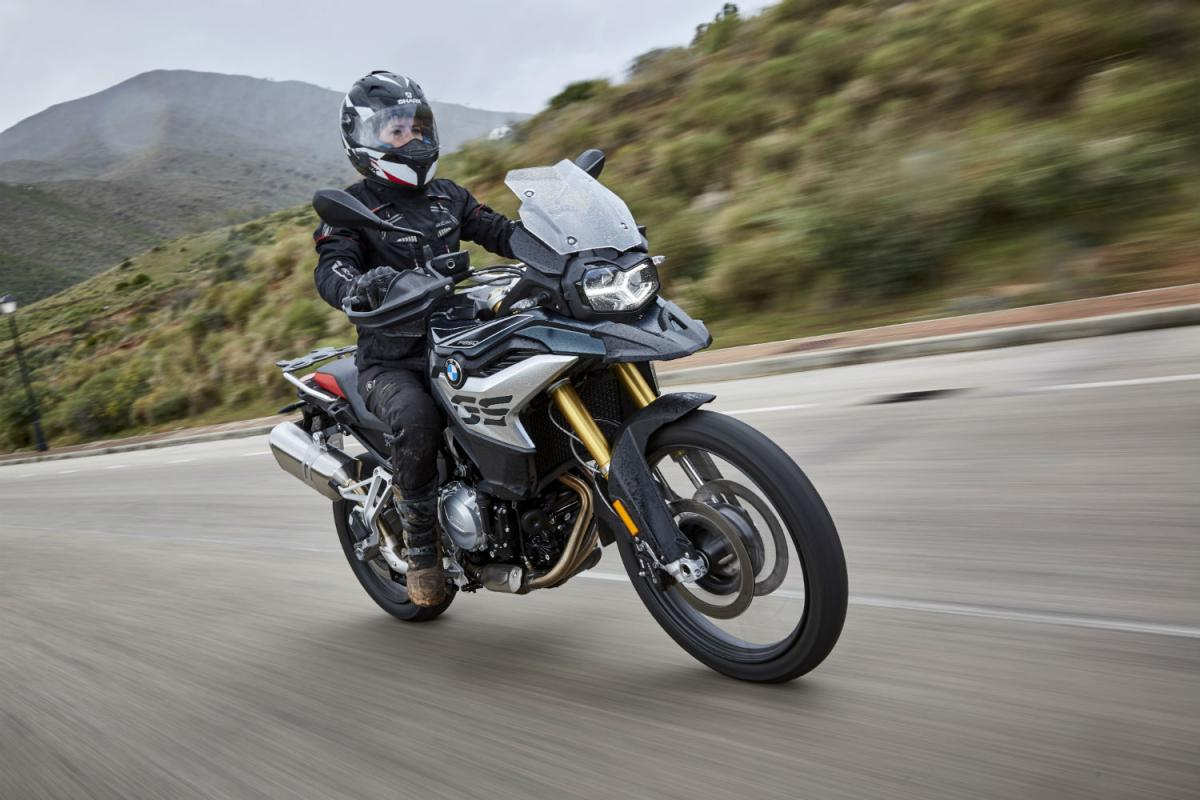 first ride: bmw f850 gs and f750gs review | visordown