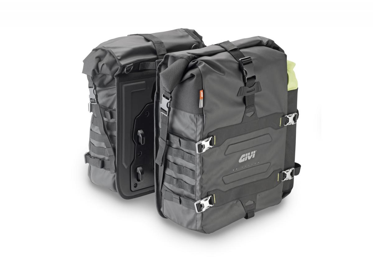 New Gravel-T Canyon soft side panniers from Givi