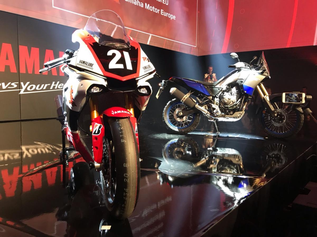 Yamaha GYTR R1 and Tenere 700