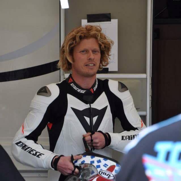 Gavin Lupton road racer