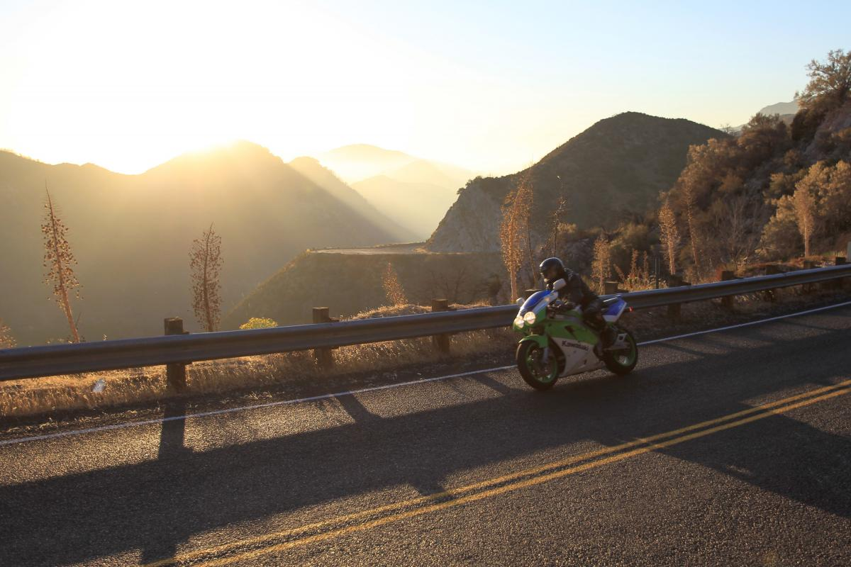 Five of the best motorcycle routes in the US