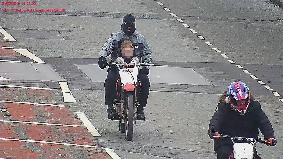 Greater Manchester Police off-road rider appeal