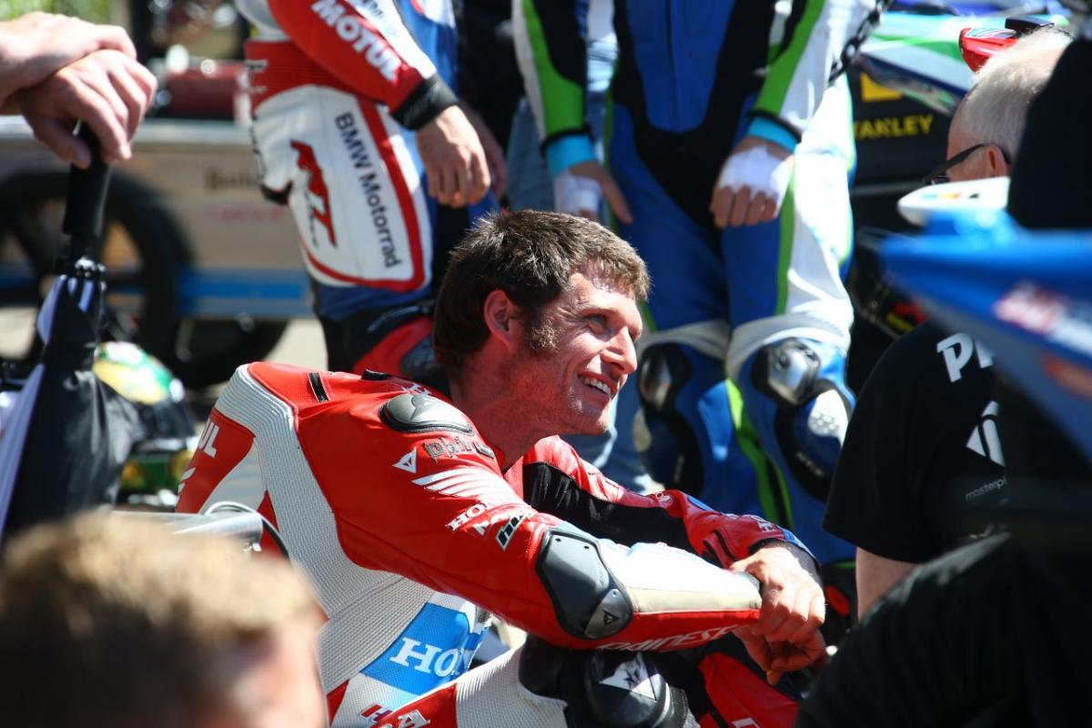 Guy Martin out of Ulster Grand Prix