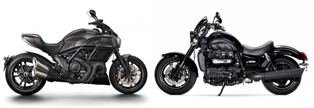 Rocket III vs Diavel
