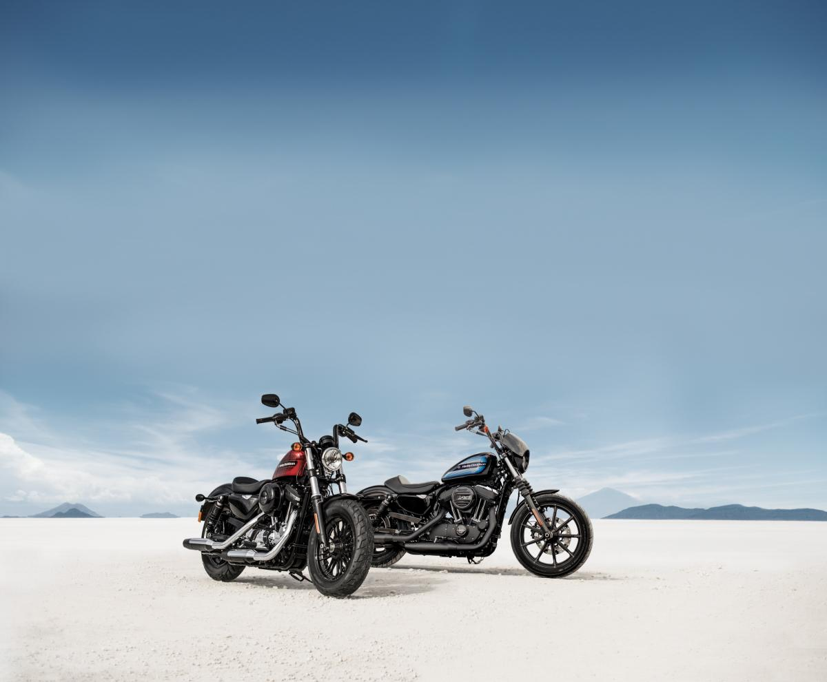 Harley Launches Iron 1200 And Forty Eight Special Visordown