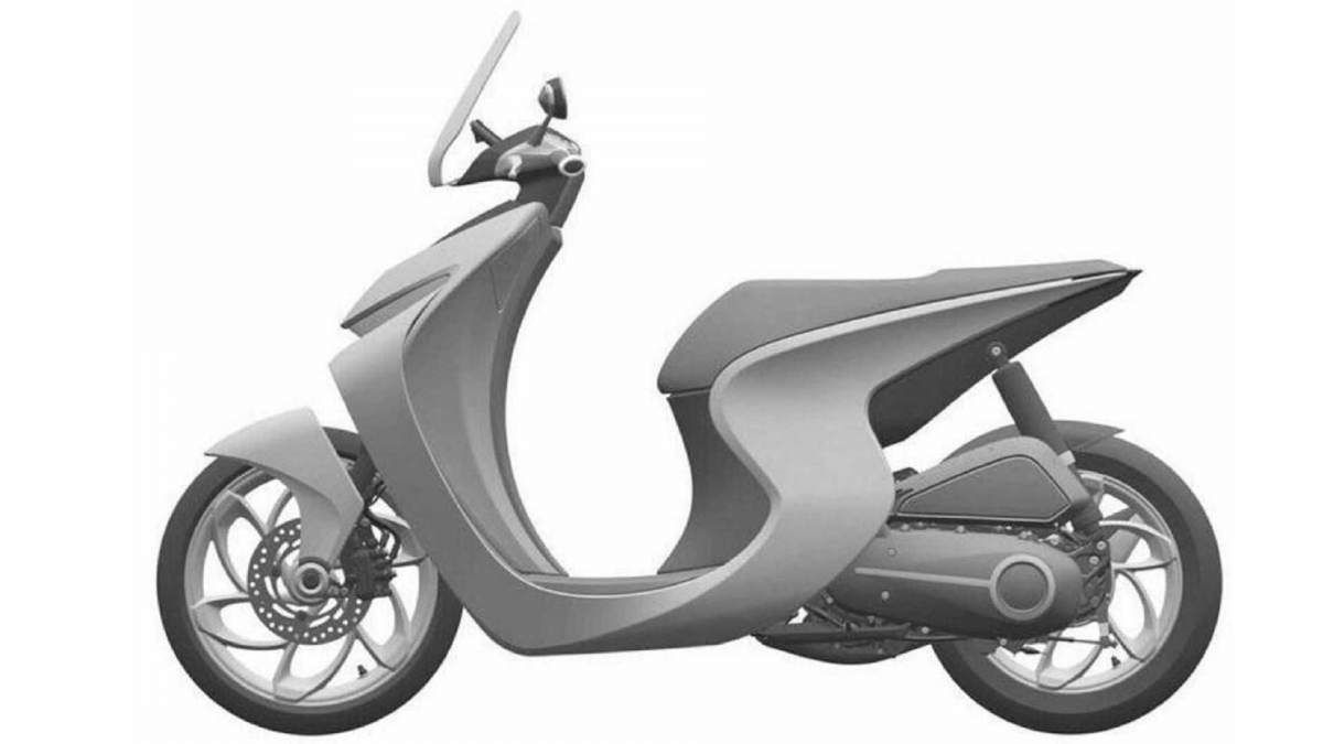 Honda Scooter patent image