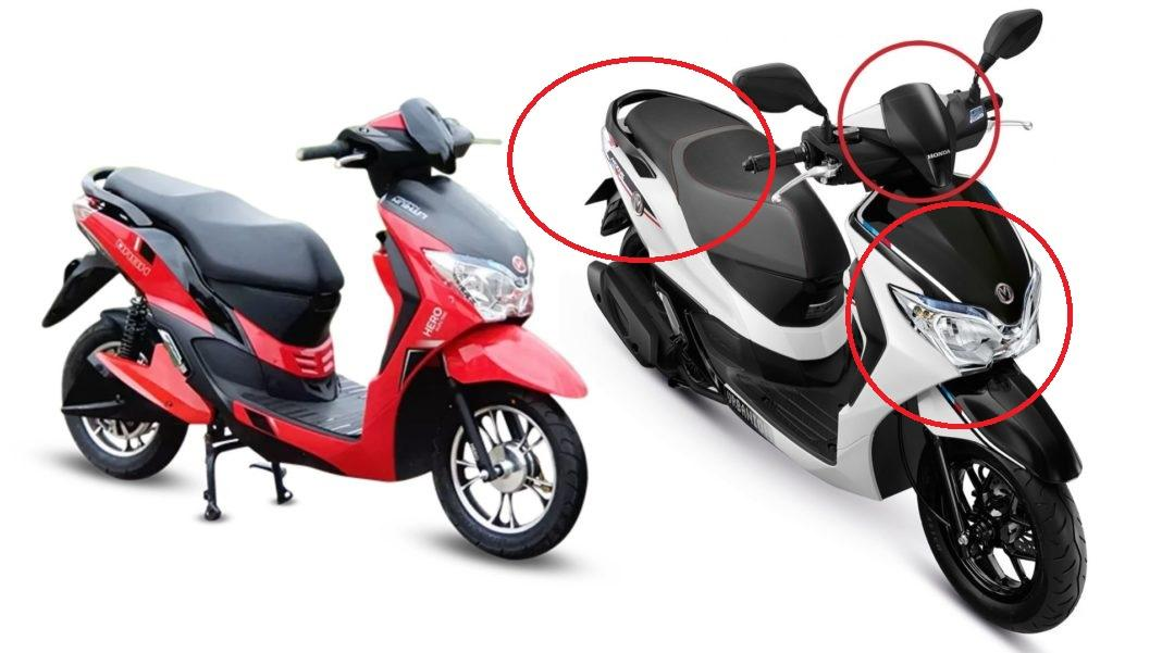 Honda vs Hero electric scooters