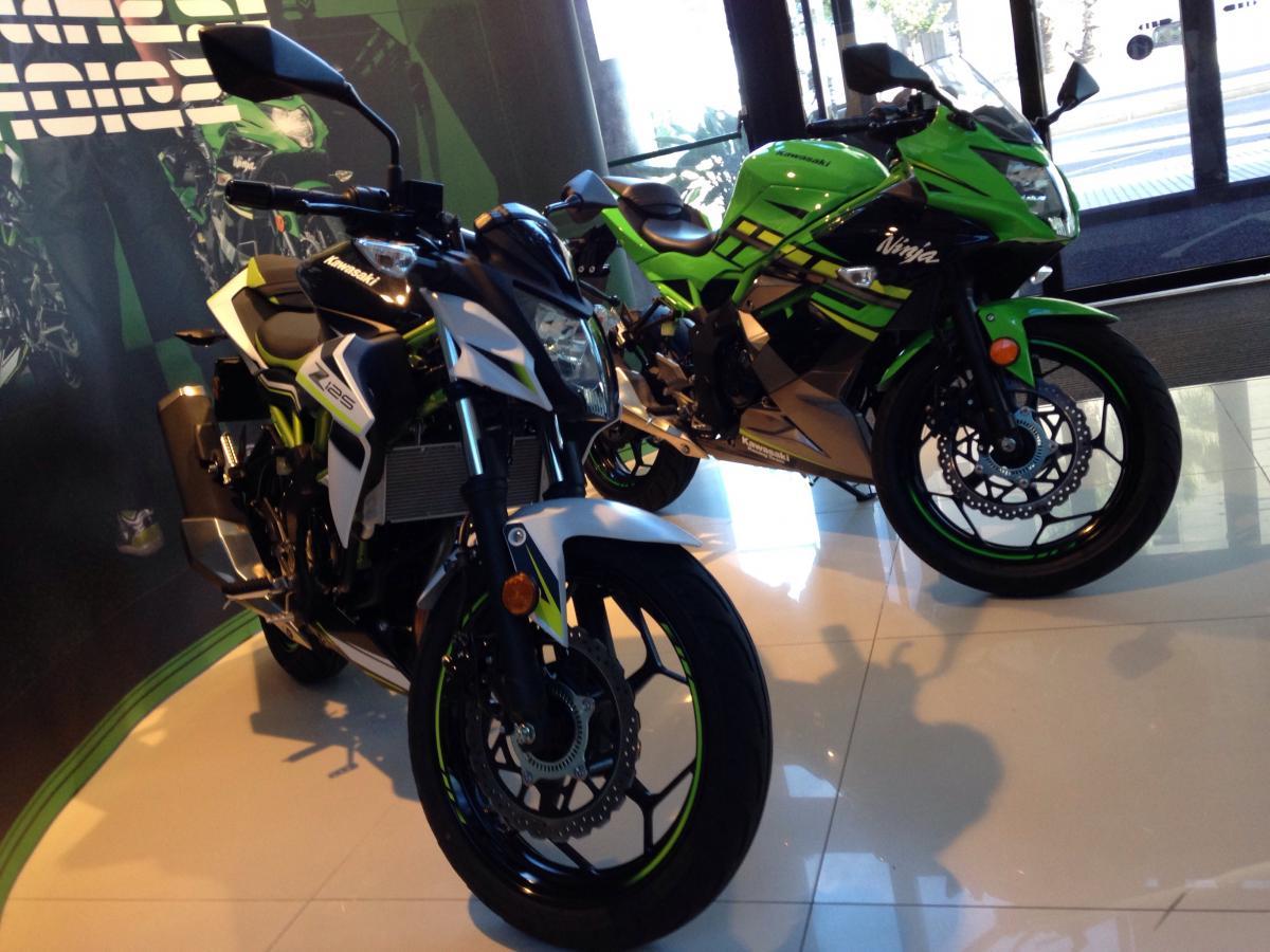 Kawasaki ZX125 and Z125