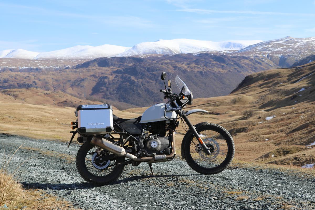 First Ride Royal Enfield Himalayan Visordown