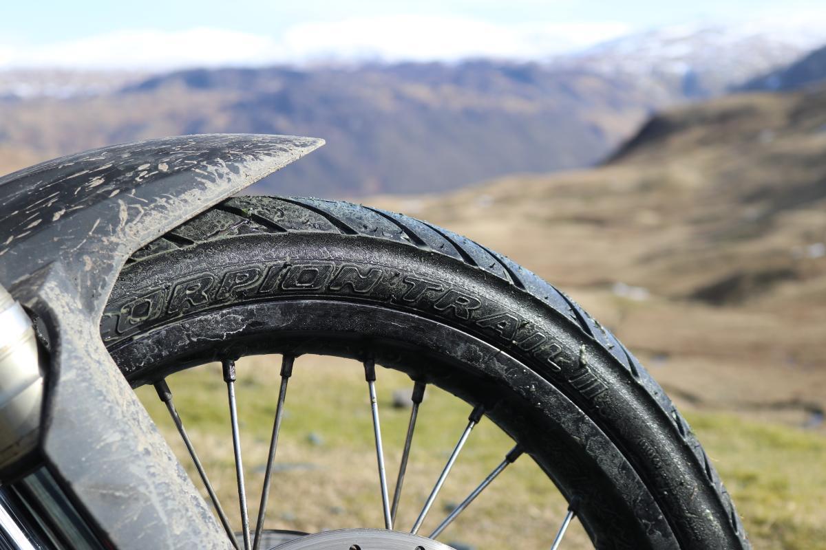 First look - Pirelli Scorpion Trail II tyres
