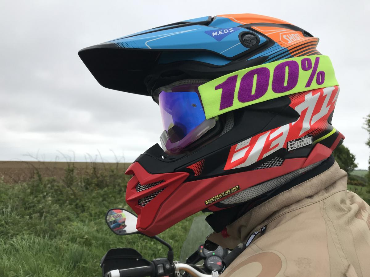 First impressions: Shoei VFX-WR off-road lid