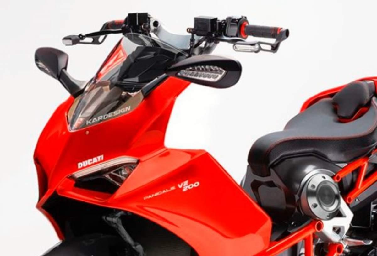 Italjet Dragster - Ducati Panigale V2 [credit: Kar Lee Designs Instagram]