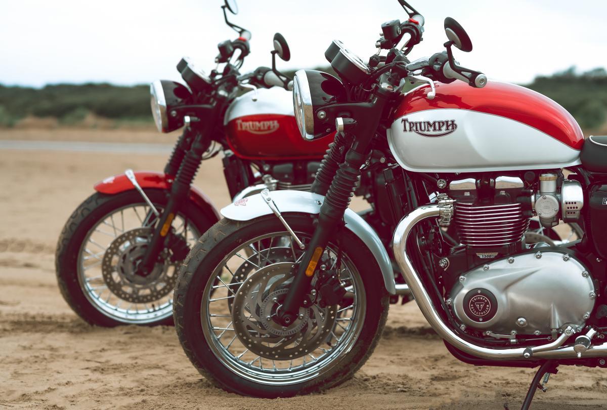 Triumph Bud Ekins Bonneville T120 & T100 Special Editions