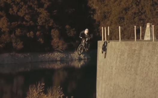 Julien Dupont makes riding a trials bike look effortless