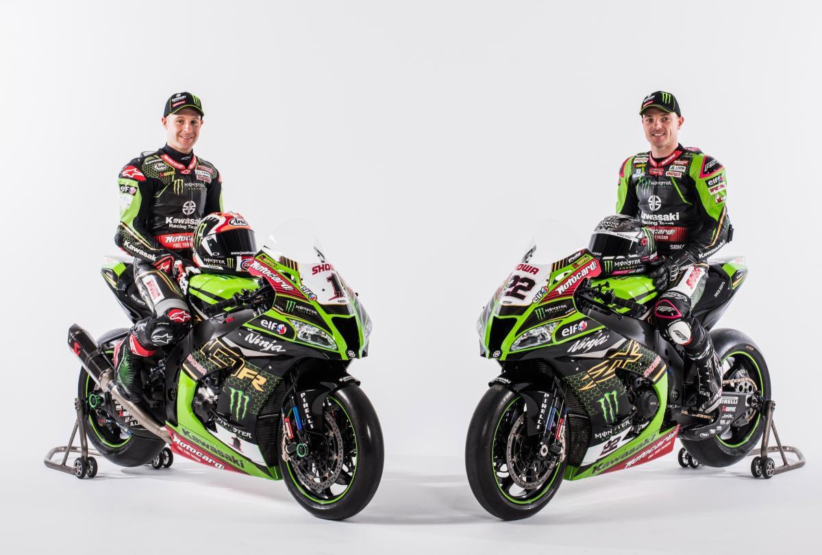 Alex Lowes, Jonathan Rea - Kawasaki Racing Team
