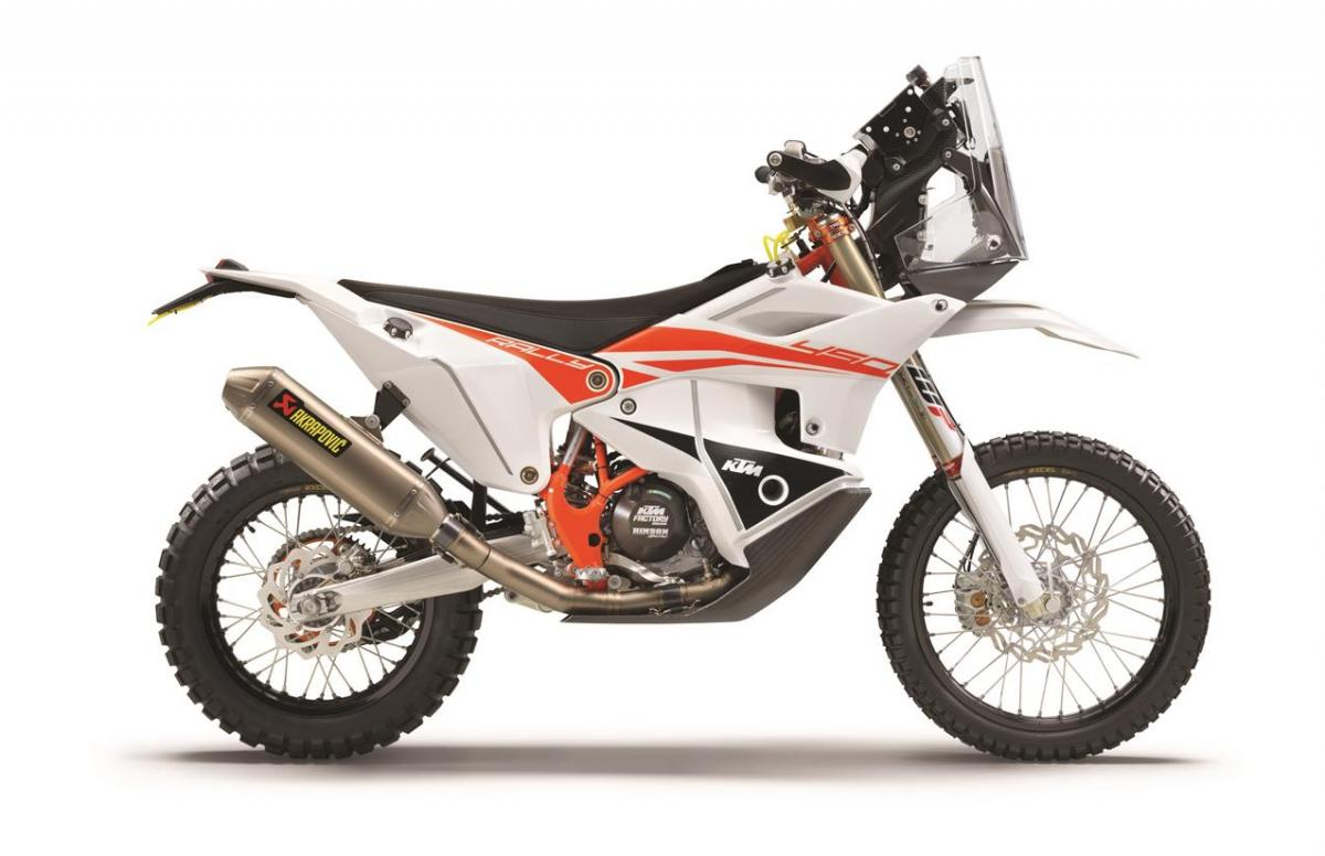 KTM 450 Rally Factory Replica