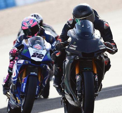 Hamilton's speed on a bike concerns WSBK racer