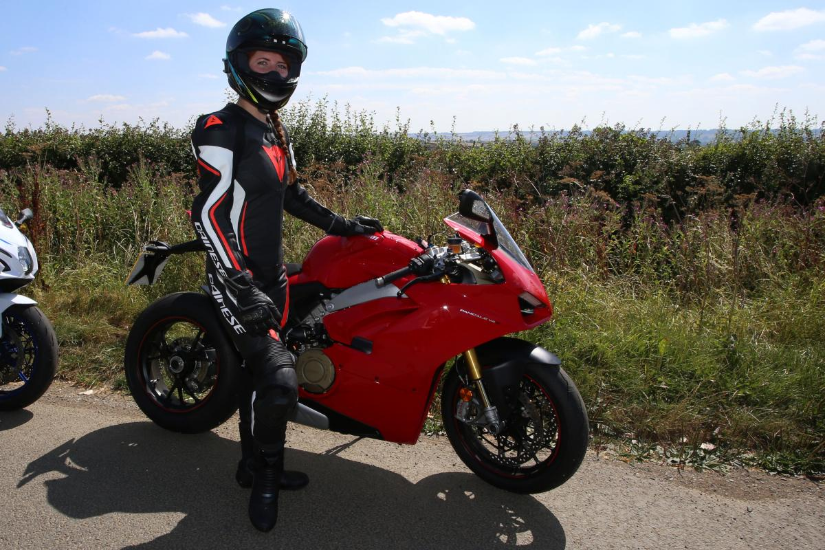 First impressions: Dainese's Assen 1pc perf Lady £749.95