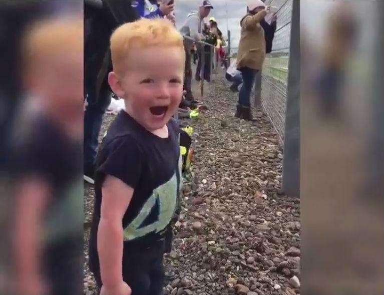 Little boy's reaction sums up how we all feel about motorcycles
