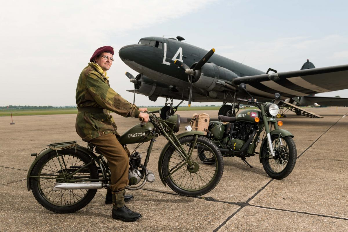 Royal Enfield launches tribute to wartime bikes