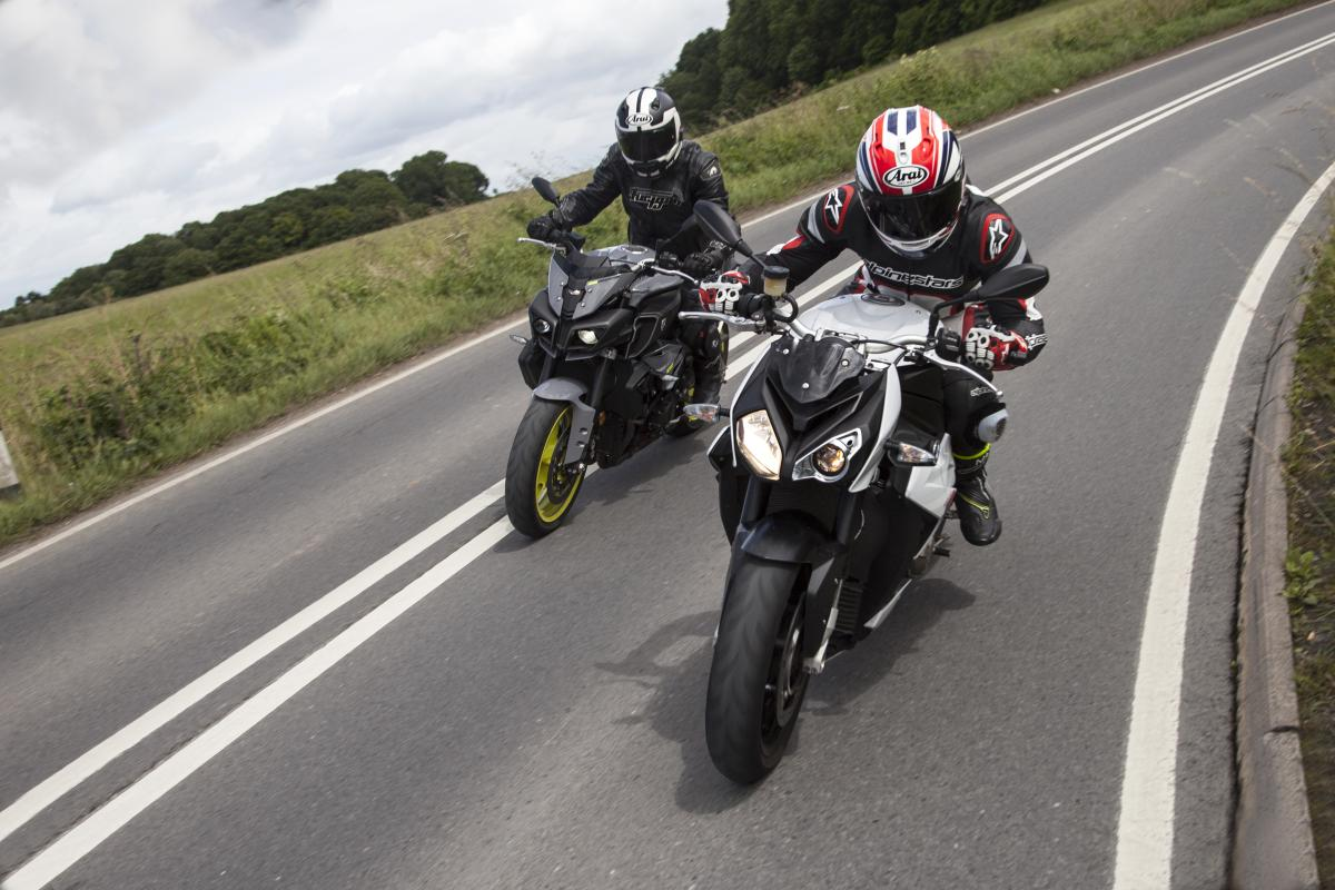 Back-to-back test: Yamaha MT-10 vs BMW S1000R review