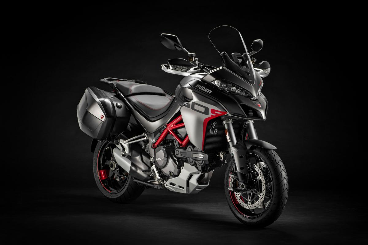The Ducati Multistrada 1260 S Grand Tour revealed