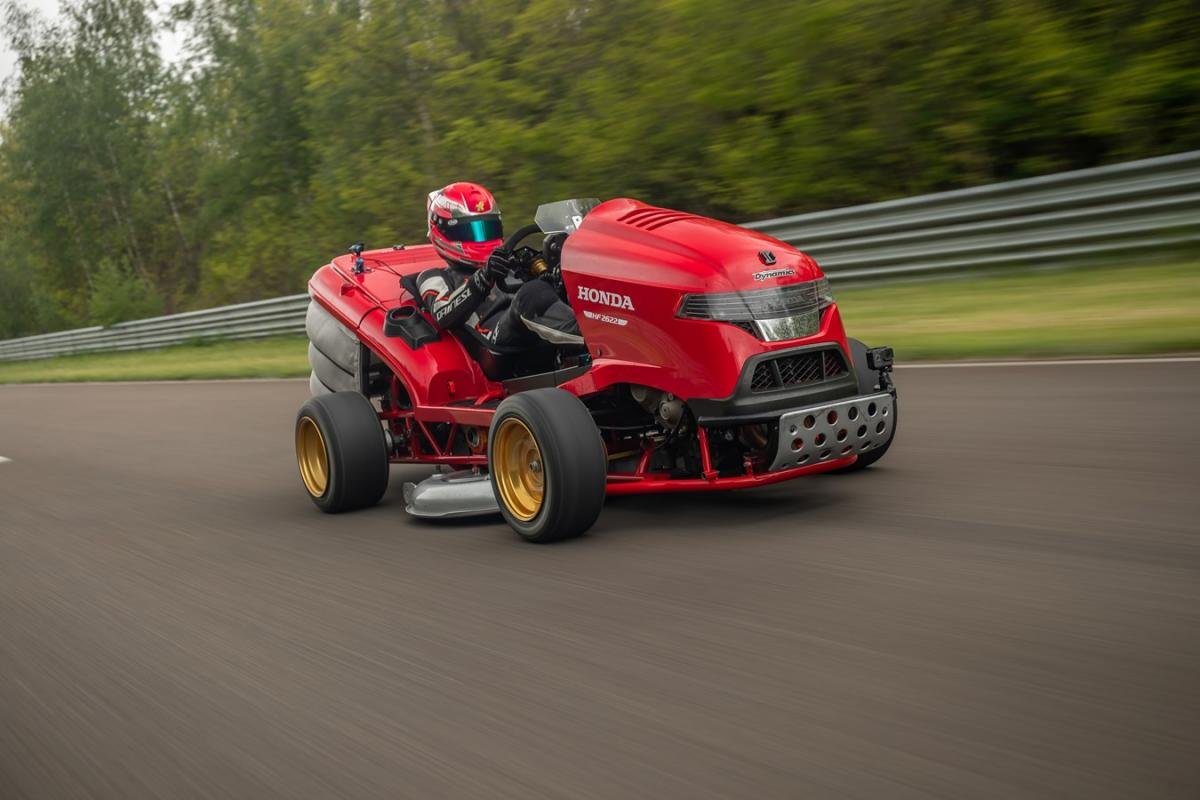Mean Mower V2 breaks Guinness World Record