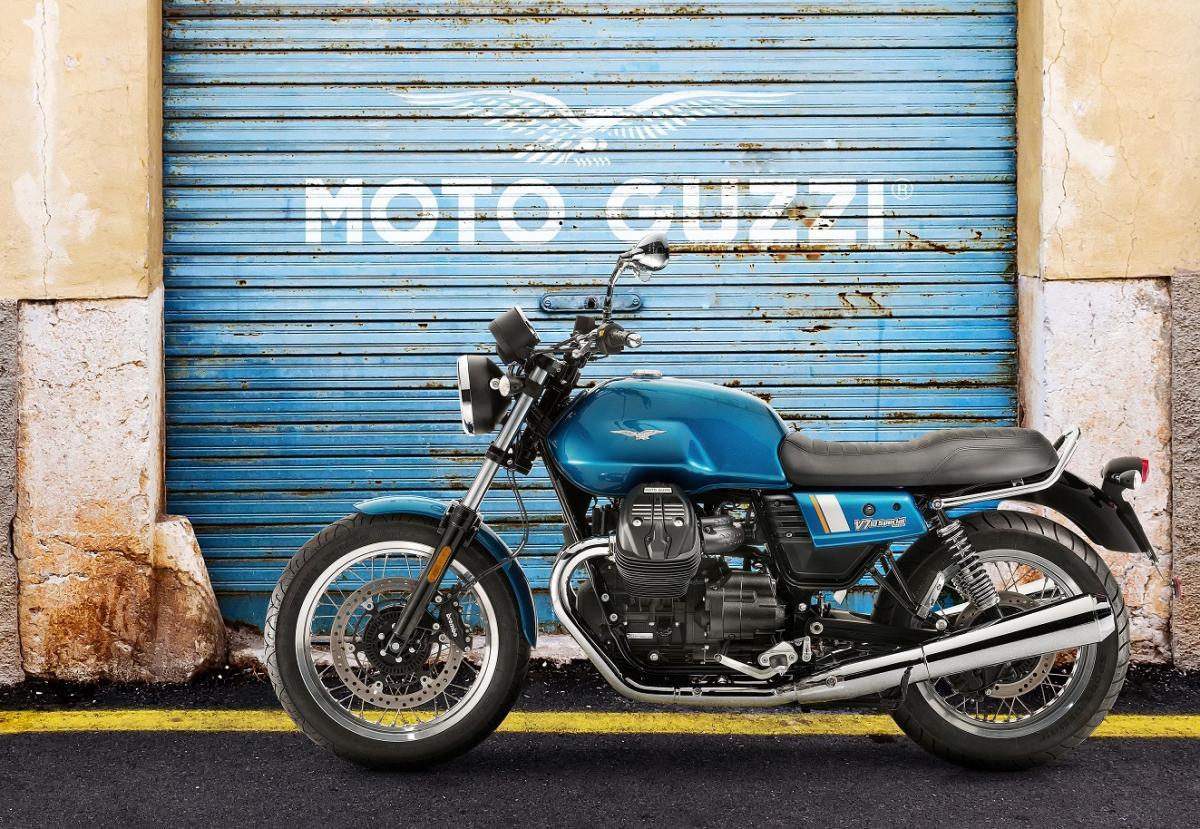 Moto Guzzi V7 revamped for its 50th anniversary