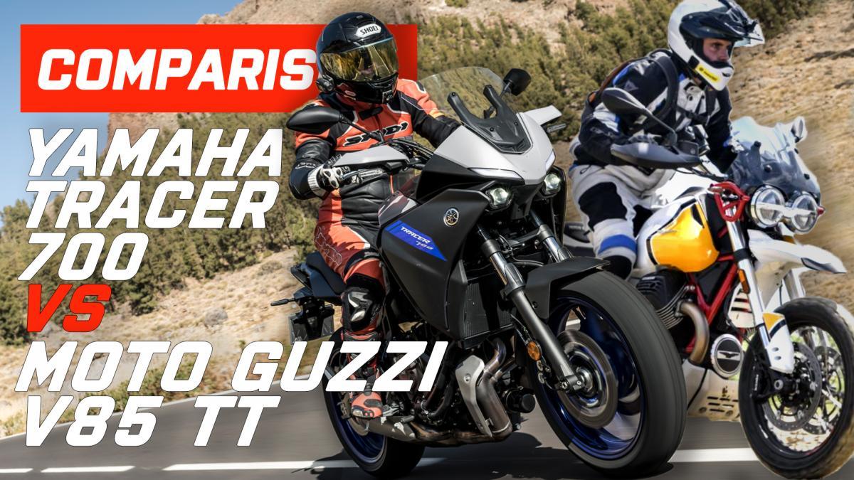 Moto guzzi vs tracer 700