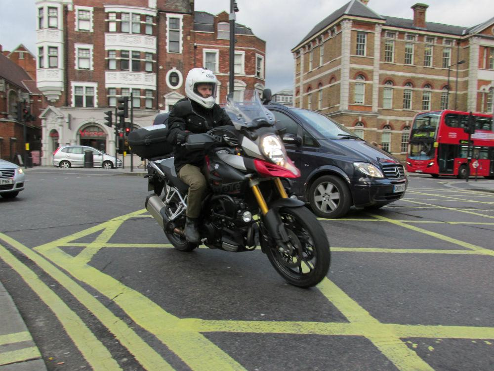 Developing your 'mental radar system' when riding in traffic