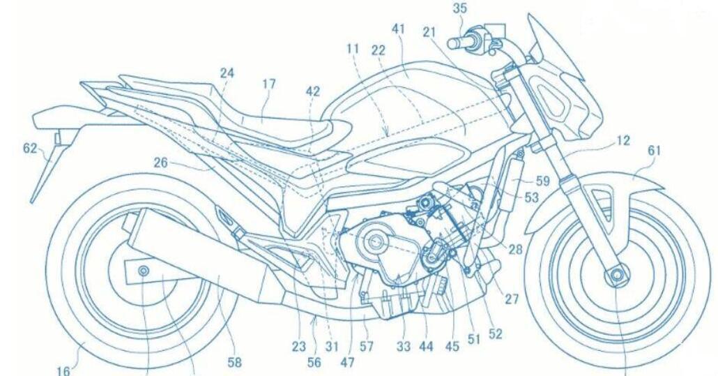 New Honda NC750 engine
