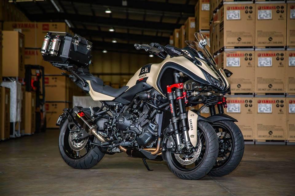 Turbocharged Yamaha Niken special