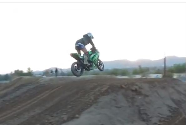 Ninja 300 Dirtbike?!