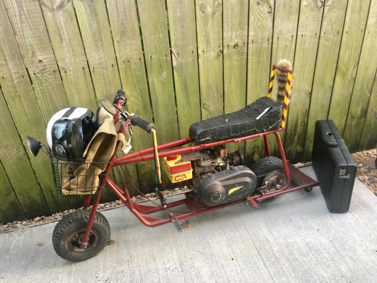 Dumb and Dumber minibike for sale on eBay