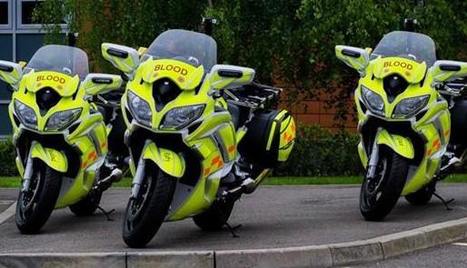 Oxfordshire blood bikers SERV OBN