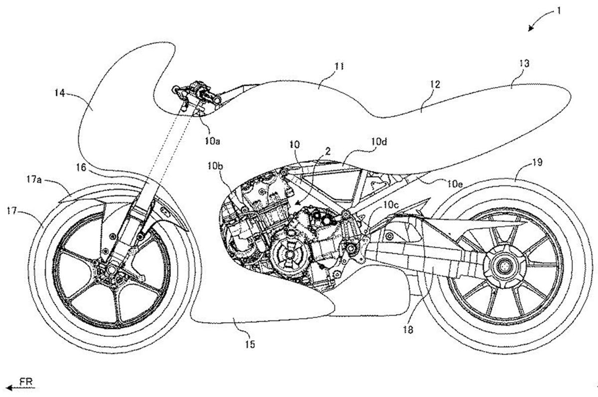 New patent indicates Suzuki turbo bike